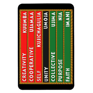 7 Principles of Kwanzaa Magnet