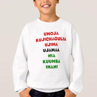 7 Principles of Kwanzaa Sweatshirt