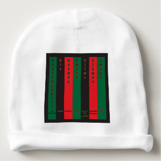 7 Principles of Kwanzaa (Vertical) Baby Beanie