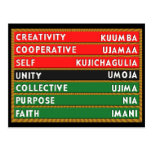 7 Principles Postcards