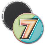 7 REFRIGERATOR MAGNETS
