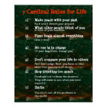 7 reglas cardinales para la VIDA Poster