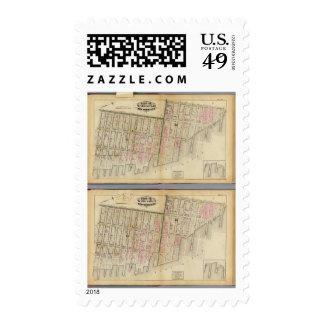 7 salas 11, 18 sellos postales