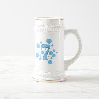7-Seven Beer Stein