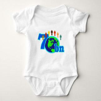 7 Seven Billion World Population Design Tees