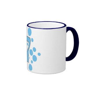 7-Seven Ringer Coffee Mug