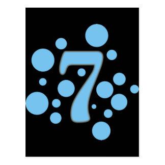 7-Seven Tarjeta Postal