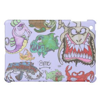 7 sick made creatures iPad mini cover