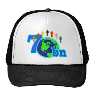 7 siete mil millones diseños de la población de mu gorros