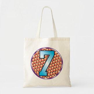 7 Skulls Age Budget Tote Bag