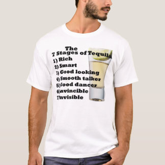 7 Stages of Tequila T-Shirt