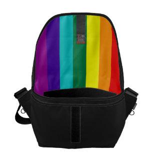 7 Stripes Rainbow Flag Messenger Bag