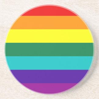 7 Stripes Rainbow Gay Pride Flag Coaster