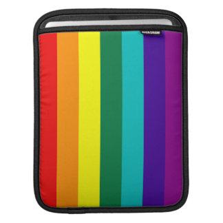 7 Stripes Rainbow Gay Pride Flag iPad Sleeve