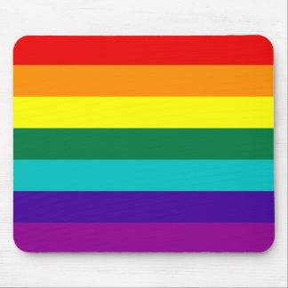 7 Stripes Rainbow Gay Pride Flag Mousepad