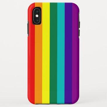 7 Stripes Rainbow Pride iPhone XS Max Case
