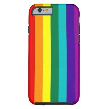 7 Stripes Rainbow Pride Tough iPhone 6 Case