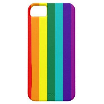 7 Stripes Rainbow Pride iPhone SE/5/5s Case