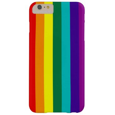 7 Stripes Rainbow Pride Barely There iPhone 6 Plus Case