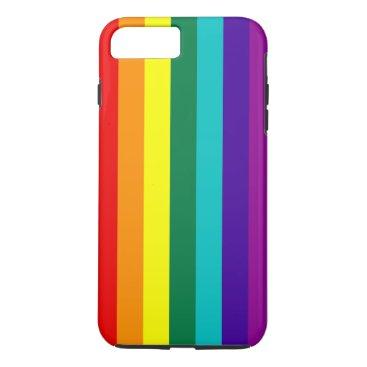 7 Stripes Rainbow Pride iPhone 8 Plus/7 Plus Case