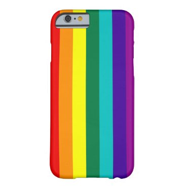 7 Stripes Rainbow Pride Barely There iPhone 6 Case