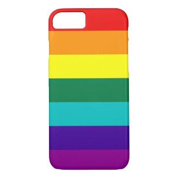 7 Stripes Rainbow Pride iPhone 8/7 Case