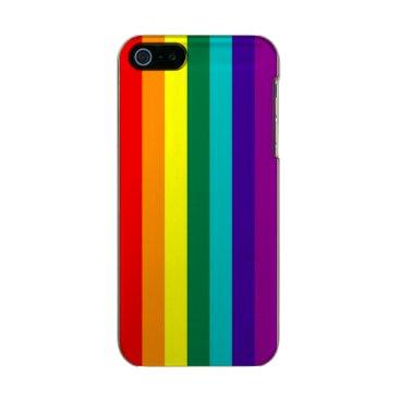 7 Stripes Rainbow Pride Flag Metallic iPhone SE/5/5s Case