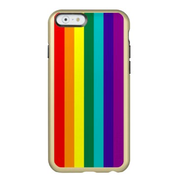 7 Stripes Rainbow Pride Flag Incipio Feather Shine iPhone 6 Case