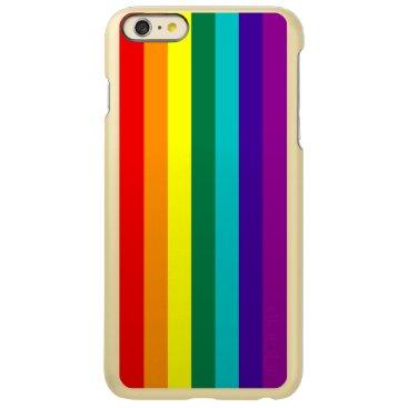 7 Stripes Rainbow Pride Flag Incipio Feather Shine iPhone 6 Plus Case