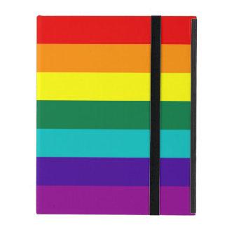 7 Stripes Rainbow Pride Flag iPad Folio Case