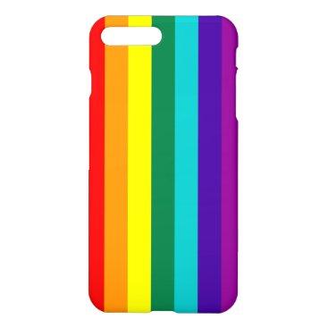 7 Stripes Rainbow Pride Flag iPhone 8 Plus/7 Plus Case