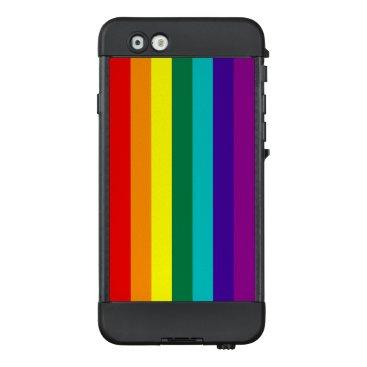 7 Stripes Rainbow Pride Flag LifeProof NÜÜD iPhone 6 Case