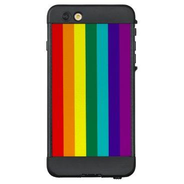 7 Stripes Rainbow Pride Flag LifeProof NÜÜD iPhone 6 Plus Case