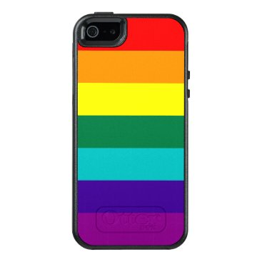7 Stripes Rainbow Pride Flag OtterBox iPhone 5/5s/SE Case