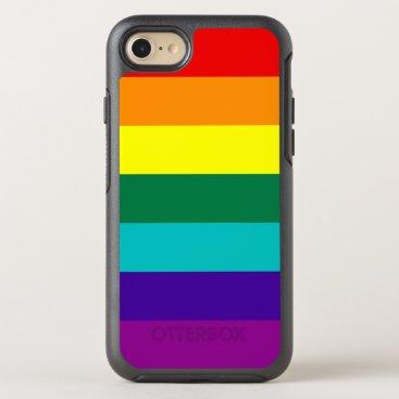 7 Stripes Rainbow Pride Flag OtterBox Symmetry iPhone 8/7 Case