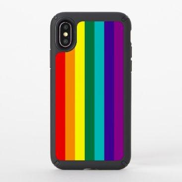 7 Stripes Rainbow Pride Flag Speck iPhone X Case