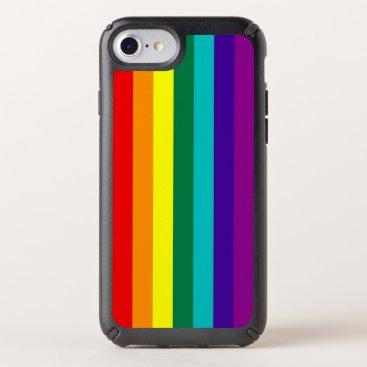 7 Stripes Rainbow Pride Flag Speck iPhone Case