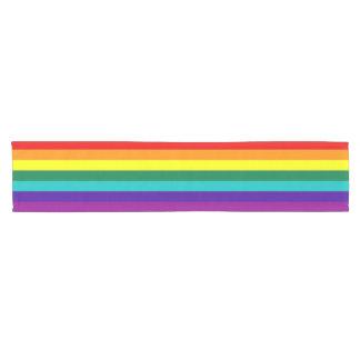 7 Stripes Rainbow Pride Flag Short Table Runner