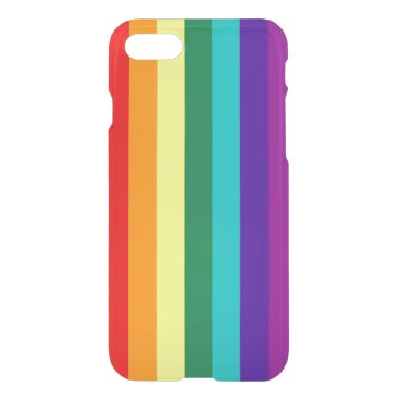 7 Stripes Rainbow Pride Flag iPhone 8/7 Case