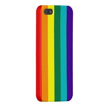 7 Stripes Rainbow Pride Case For iPhone SE/5/5s
