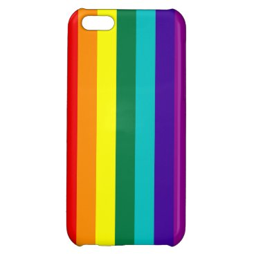 7 Stripes Rainbow Pride Case For iPhone 5C