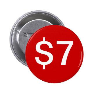 $7 Vendor / Sales Button