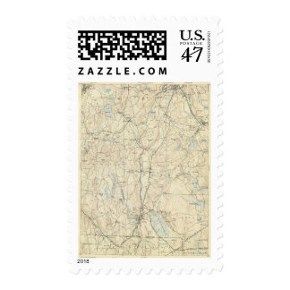 7 Webster sheet Postage