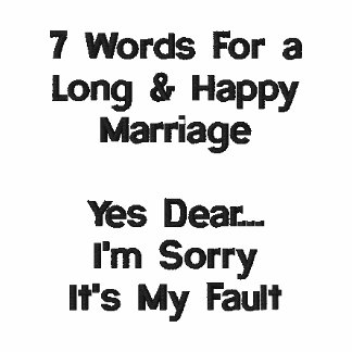 7 Words For A Long and Happy Marriage