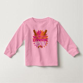 7 Year Old Baseball Fanatic Toddler T-shirt
