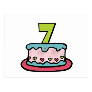 Image result for 7 birthday cake