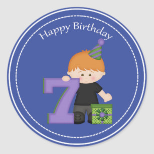 7 year old boy crafts party supplies zazzle