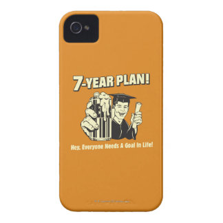 7 Year Plan: Everyone Needs a Goal iPhone 4 Cover