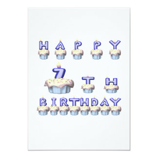 7 Years Old Card