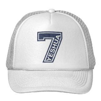 7 Yeshua Oblique Jean's Trucker Hat